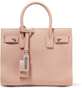 Saint Laurent Sac De Jour Nano Textured-leather Tote - Blush
