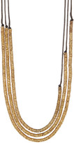Soko Cascading Triple Strand Necklace