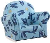 Kid Kraft Upholstered Airplane Rocker & Slipcover