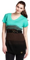 Southpole Junior's Plus Size Belted Sweater Dress