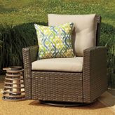 Bed Bath & Beyond Barrington Wicker Swivel Chair