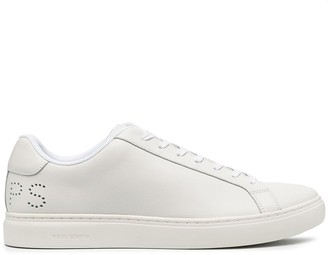 Paul Smith Low Top Perforated Logo Sneakers