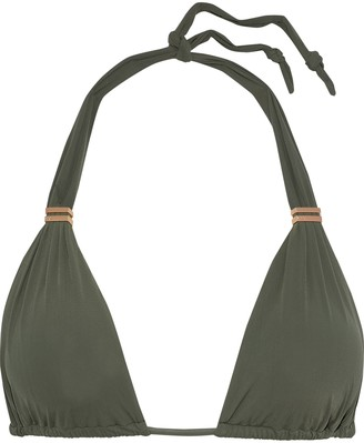 Vix Paula Hermanny Bia Ruched Triangle Bikini Top