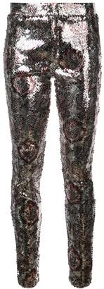 Isabel Marant Sequin Pattern Leggings