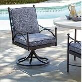 Tommy Bahama Pavlova Swivel Patio Dining Chair with Cushion Outdoor