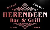 AdvPro Name u19877-r HERENDEEN Family Name Gift Bar & Grill Home Beer Neon Light Sign