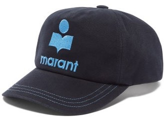 Isabel Marant Tyron Logo-embroidered Baseball Cap - Navy