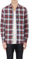 R 13 Men's Button-Front Shirt