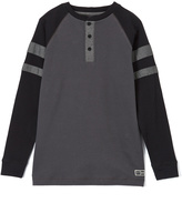 Beverly Hills Polo Club Midnight Thermal Henley - Boys