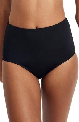 Madewell Second Wave Retro High Waist Bikini Bottom