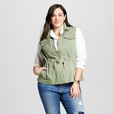Merona Women's Plus Size Military Vest