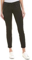AG Jeans The Whitt Sulfur Black Super Skinny Cargo Ankle Cut