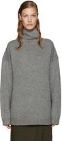 Acne Studios Grey Wool Saara Turtleneck