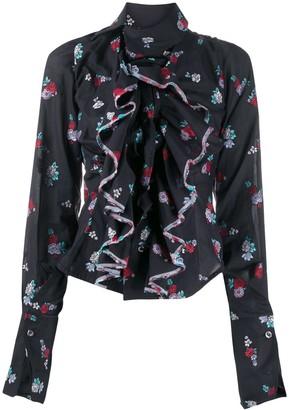 Vivienne Westwood Bouquet Fil Coupe Wizard Shirt