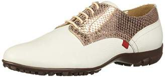 Marc Joseph New York Womens Leather Made in Brazil Pacific Lace Up Golf Shoe