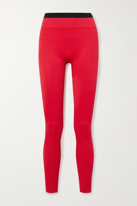 Reebok x Victoria Beckham Jacquard-knit Leggings