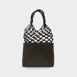 Stella McCartney Handbag Tote In Khaki Synthetic Leather
