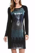 Karen Kane Sequin Panel Dress