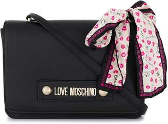 Love Moschino logo cross-body bag