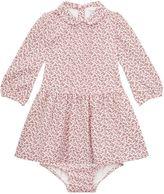 Polo Ralph Lauren Floral Pea Collar Long Sleeve Dress