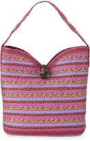 Eric Javits Watusi Squishee® Straw Hobo Bag, Rapture