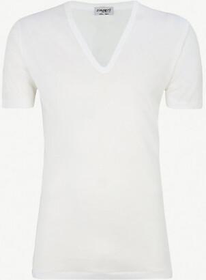 Zimmerli Deep v-neck t-shirt