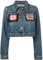 Alanui Embroidered Denim Jacket