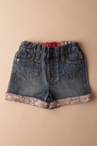 Mish Mish Mish-Mish Denim Cuffed Peace Short