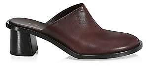 The Row Women's Teatime Leather Mules
