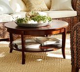 Pottery Barn Chloe Round Coffee Table