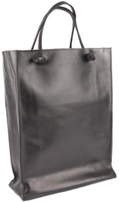 Eva D. Leather Tote Bag Black 'Grocery Bag'