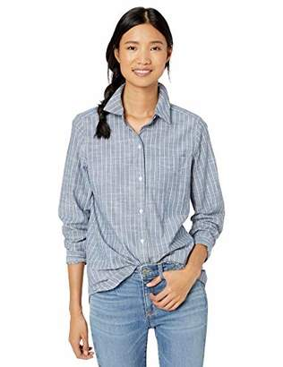 Goodthreads Washed Cotton Boyfriend Tunic Shirt,S