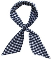 Donni Charm Women's Gingham Wire Scarf