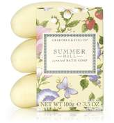 Crabtree & Evelyn Triple Milled Soap Set, Summer Hill