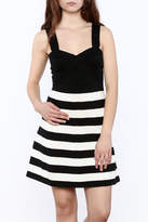 Trina by Trina Turk Side Striped Dress