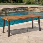 Darby Home Co Isidore Outdoor Wood Dining Table