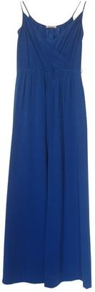 Masscob Blue Silk Dress for Women