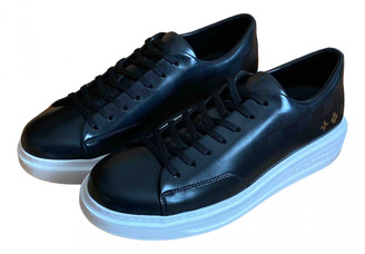Louis Vuitton Beverly Hills Black Leather Trainers
