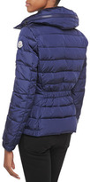 Moncler Sanglier Elastic-Waist Puffer Jacket