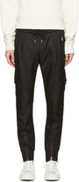Paul Smith Black Multi-Pocket Cargo Pants