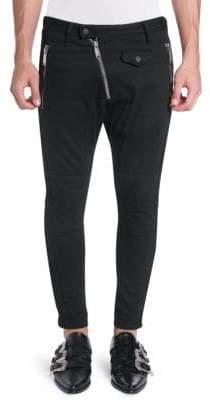 DSQUARED2 Asymetrical Zip Wool Pants