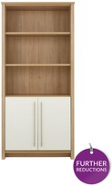 Consort Furniture Limited Suri Ready Assembled Bookcase With 2 Door Cupboard