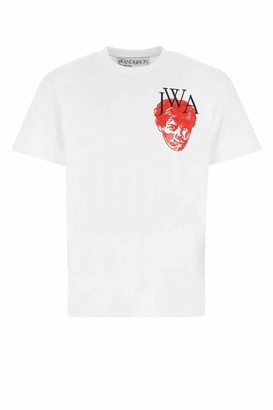J.W.Anderson Embroidered Face T-Shirt