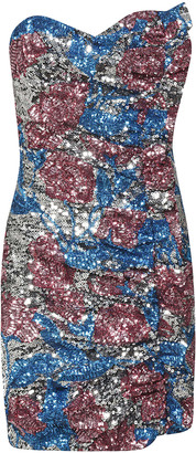 Giuseppe di Morabito Embellished Fitted Dress