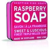Scottish Fine Soaps Raspberry Soap Tin 100g