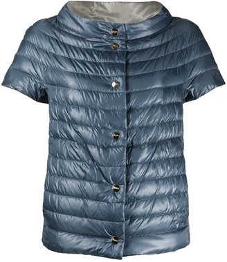 Herno Short-Sleeved Reversible Down Jacket