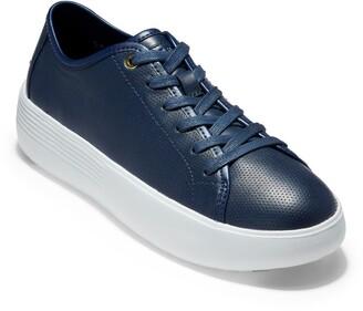 Cole Haan Grand Crosscourt Flatform Lace-Up Sneaker