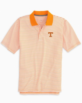 Southern Tide Tennessee Volunteers Pique Striped Polo Shirt