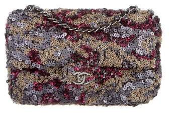 Chanel Sequin Timeless Flap Bag