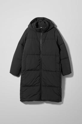 Weekday Robin Puffer Jacket - Black